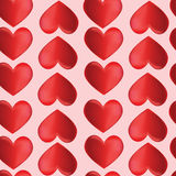 Seamless background with hearts by St. Valentines  Stock Photo