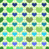 Seamless background with hearts. For textiles, interior design, for book design, website background Stock Photos