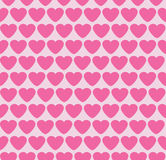 Seamless background with hearts. Valentine. Royalty Free Stock Image