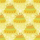 Seamless background, holiday pie Royalty Free Stock Images