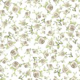 Seamless background.Illustration rose. Stock Photography