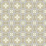 Seamless background image of curve cross frame flower kaleidoscope Stock Image