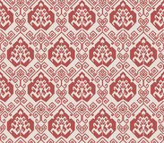 Seamless background image of oriental spiral geometry line Royalty Free Stock Image