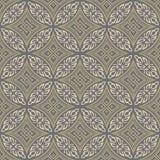 Seamless background image of round aboriginal cross geometry Royalty Free Stock Photography