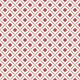 Seamless background image of round corner square check cross line Stock Photography