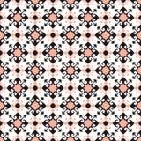 Seamless background image of vintage arrow spiral geometry kaleidoscope pattern. Stock Photo