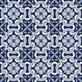 Seamless background image of vintage cross round curve kaleidoscope pattern. Royalty Free Stock Photos