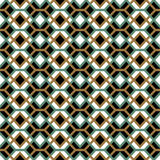 Seamless background image of vintage cross square check diamond pattern. Stock Photos