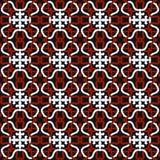 Seamless background image of vintage elegant geometry rope knot shape pattern. Stock Image