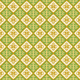 Seamless background image of vintage jagged geometry shape pattern. Stock Image