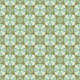 Seamless background image of vintage kaleidoscope round cross pattern. Royalty Free Stock Images