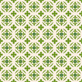 Seamless background image of vintage nature green leaf shape pattern. Stock Photography