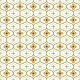 Seamless background image of vintage round curve flower kaleidoscope pattern. Royalty Free Stock Image