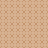 Seamless background image of vintage round flower line shape pattern. Royalty Free Stock Image