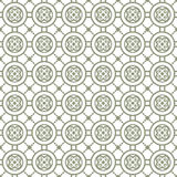 Seamless background image of vintage round heart pattern. Royalty Free Stock Photography