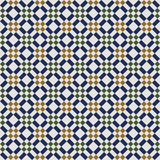 Seamless background image of vintage square diamond check geometry pattern. Royalty Free Stock Photos