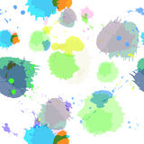 Seamless background with imitation watercolor stains. Vector illustration Royalty Free Stock Photos