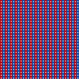 Seamless Background for July 4th. Royalty Free Stock Image