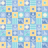 Seamless background for kids.   Baby fabric Royalty Free Stock Photography
