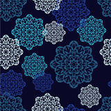 Seamless background with lace pattern. Textile rapport Stock Photos