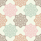 Seamless background with lace pattern. Textile rapport Royalty Free Stock Image