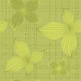 Seamless background leaf green Royalty Free Stock Photos