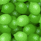Seamless background with limes. Royalty Free Stock Image