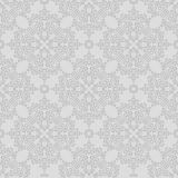 Seamless background made of exotic pattern in grey colors Royalty Free Stock Photo