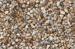 Seamless background made of gravel Stock Photos