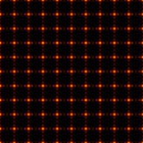 Seamless background made by net or grid with gold dots Stock Images