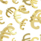 Seamless background made of  signs Royalty Free Stock Photos