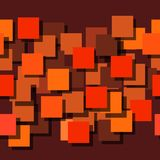 Seamless background made up of squares. The planes are painted monophatically. With different intensities. Royalty Free Stock Photo