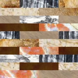 Seamless background with marble and stone patterns Stock Photos