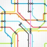 Seamless background of metro Stock Photo