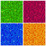 Seamless background with mosaic texture Stock Image