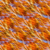 Seamless background of motion blur of trees in an autumn forest Royalty Free Stock Photos