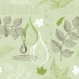 Seamless background with natural patterns Royalty Free Stock Images