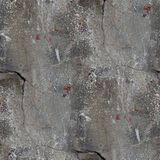 Seamless background old concrete wall with cracks Royalty Free Stock Photos