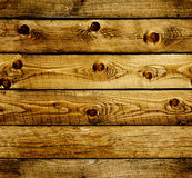 Seamless background with old wooden planks Stock Images