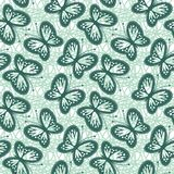 Seamless background with openwork butterflies Royalty Free Stock Photos