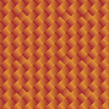 Seamless background of orange yellow geometric shapes - vector g Stock Images