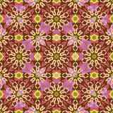 Seamless background oriental ornament kaleidoscope Royalty Free Stock Images