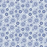 Seamless background with paisley. Seamless background with ornament of paisley Royalty Free Stock Photo