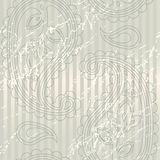 Seamless background with paisley Stock Image