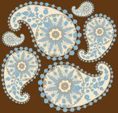 Seamless background from a paisley ornament, fashi stock photos