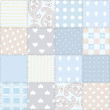 Seamless background patchwork Stock Photography