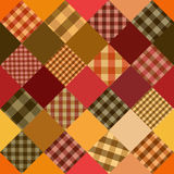 Seamless background of patchworks Stock Photos