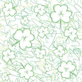 Seamless background on Patrick day Royalty Free Stock Image