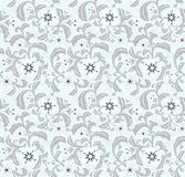 Seamless background pattern. Seamless background floral pattern. Contains trancparency Royalty Free Stock Image