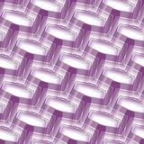 Seamless background pattern. Seamless abstract pattern with violet and white curved lines Stock Photo